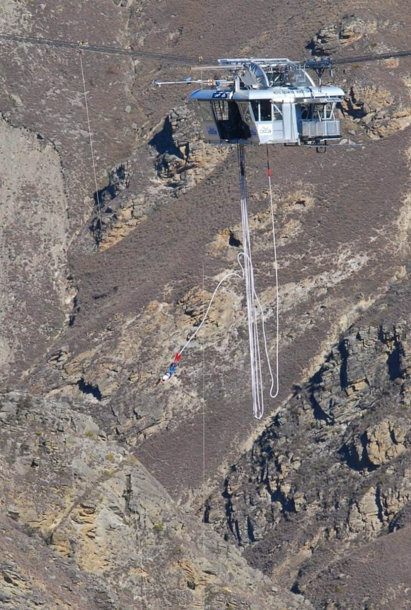The Nevis Bungy Jump