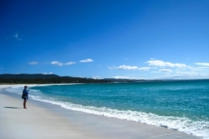 Binalong Bay and the Bay of Fires is Where Paradise is Found