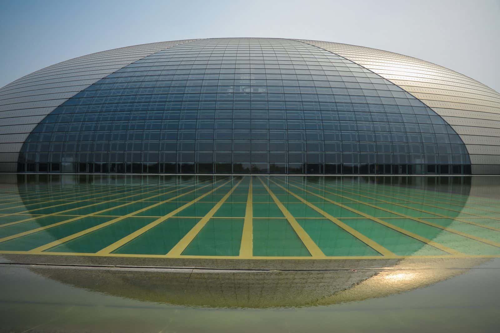 National Centre for the Performing Arts, Giant Egg, Beijing, China
