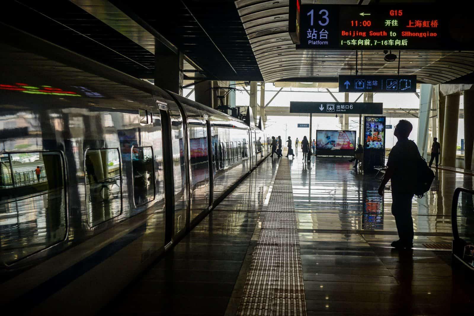 Train Station, Beijing, China