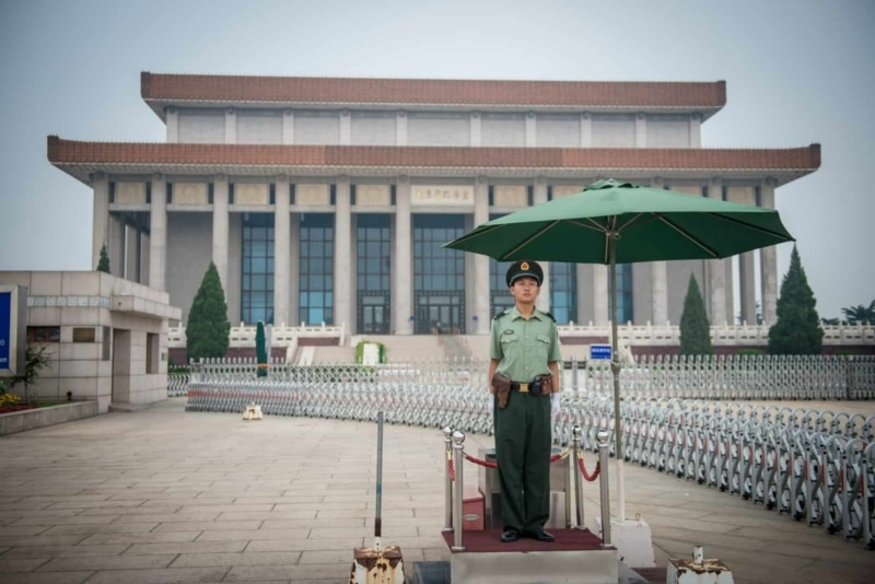 Mao's Mausoleum, Beijing, China
