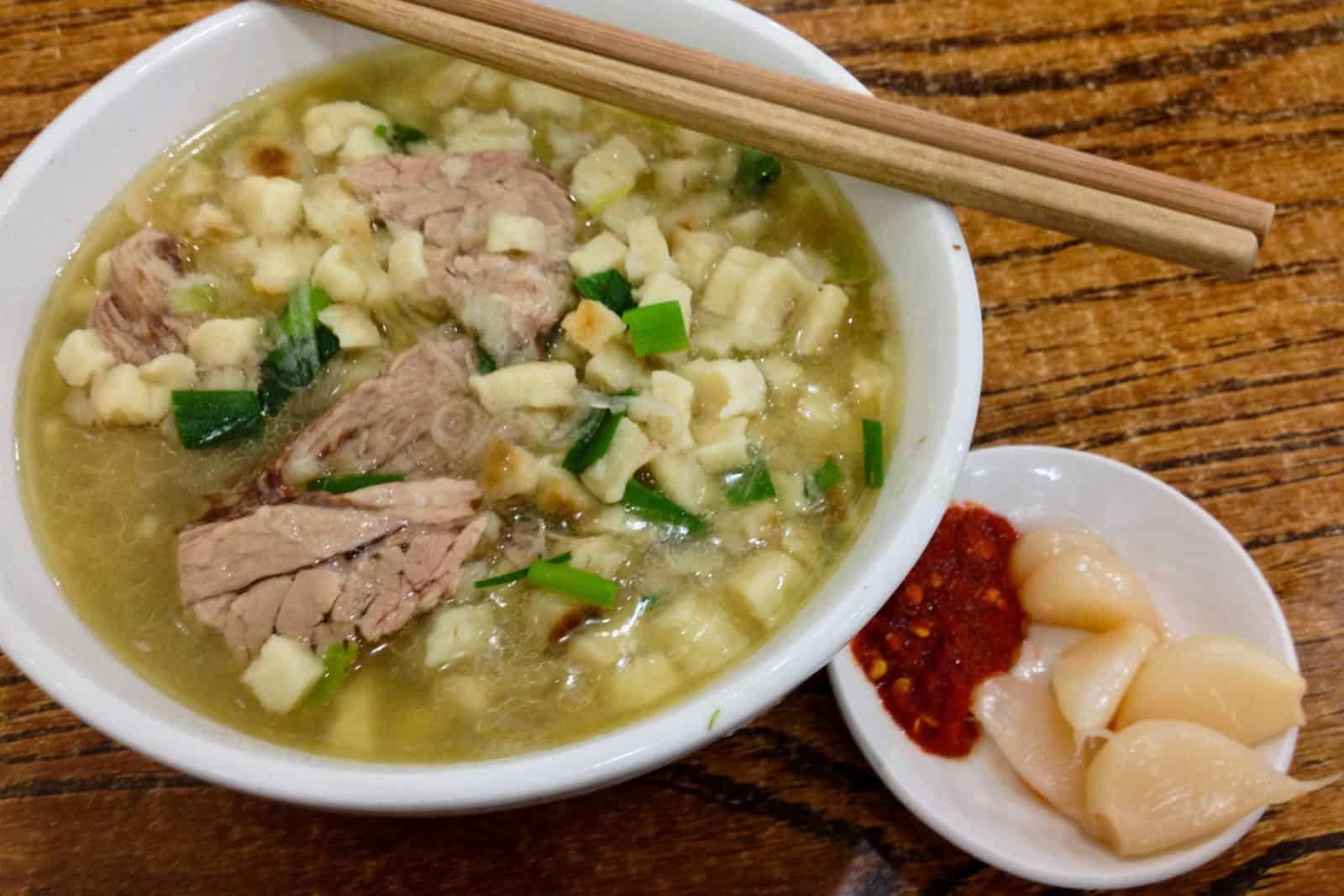 Yang Rou Pao Mo, traditional chinese food