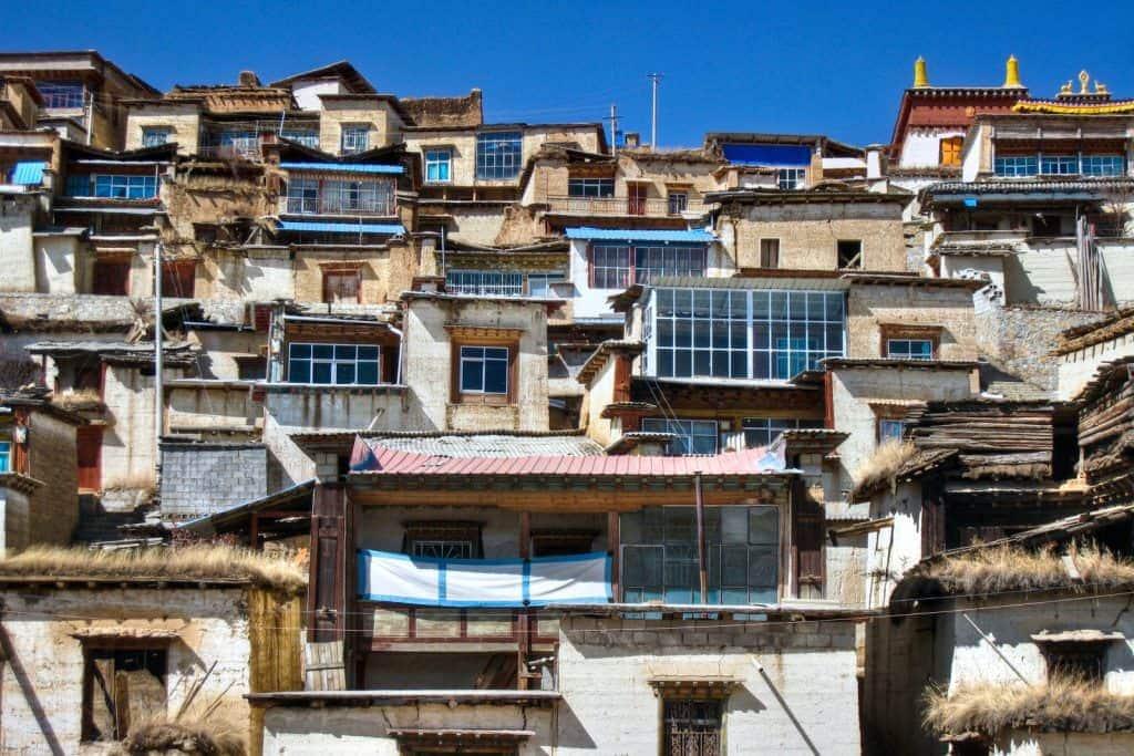 Monk housing.