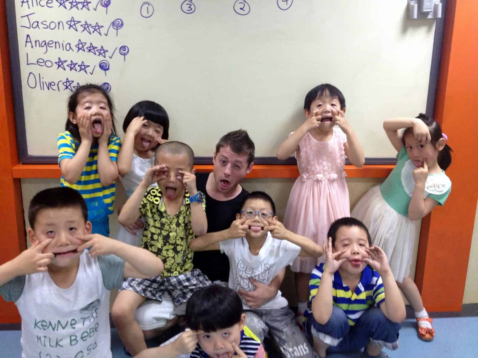 have with locals teach english china japan