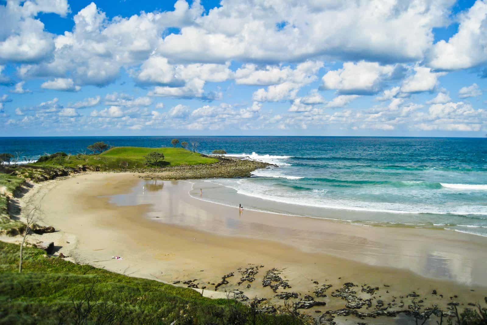 Small beach, Yamba, NSW