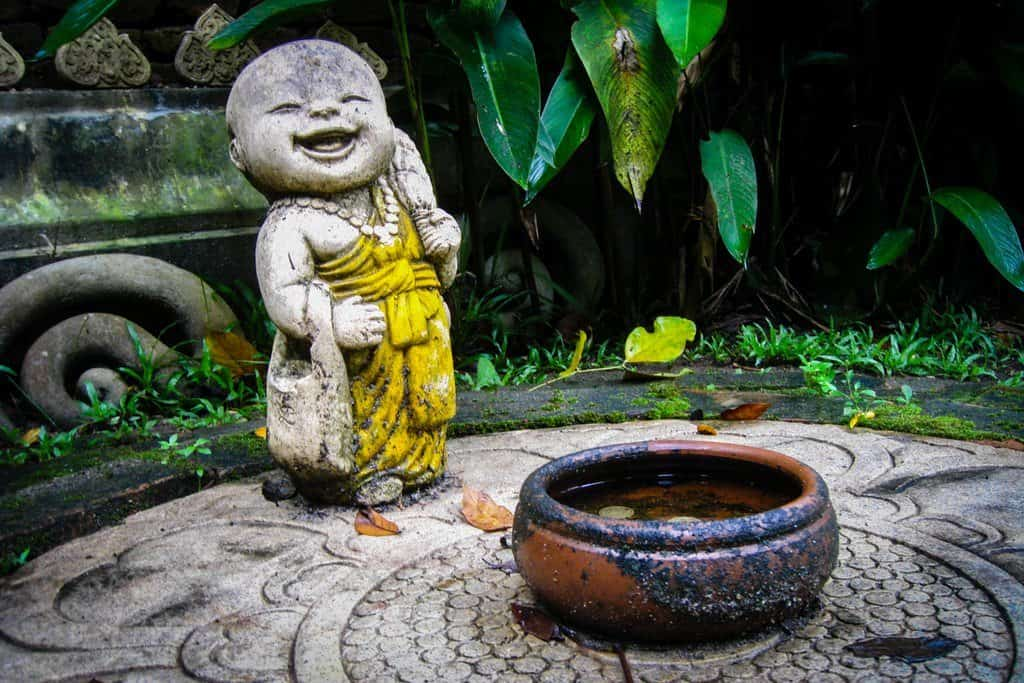 Baby Buddha is very happy!