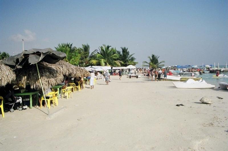 A beach in the Dominican Republic. I got a killer sunburn here!