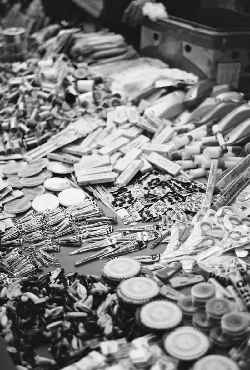 Goods at a market in Istanbul