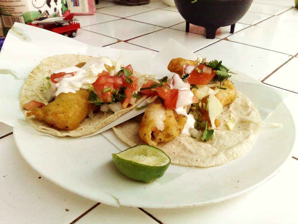 Tacos de Camaron