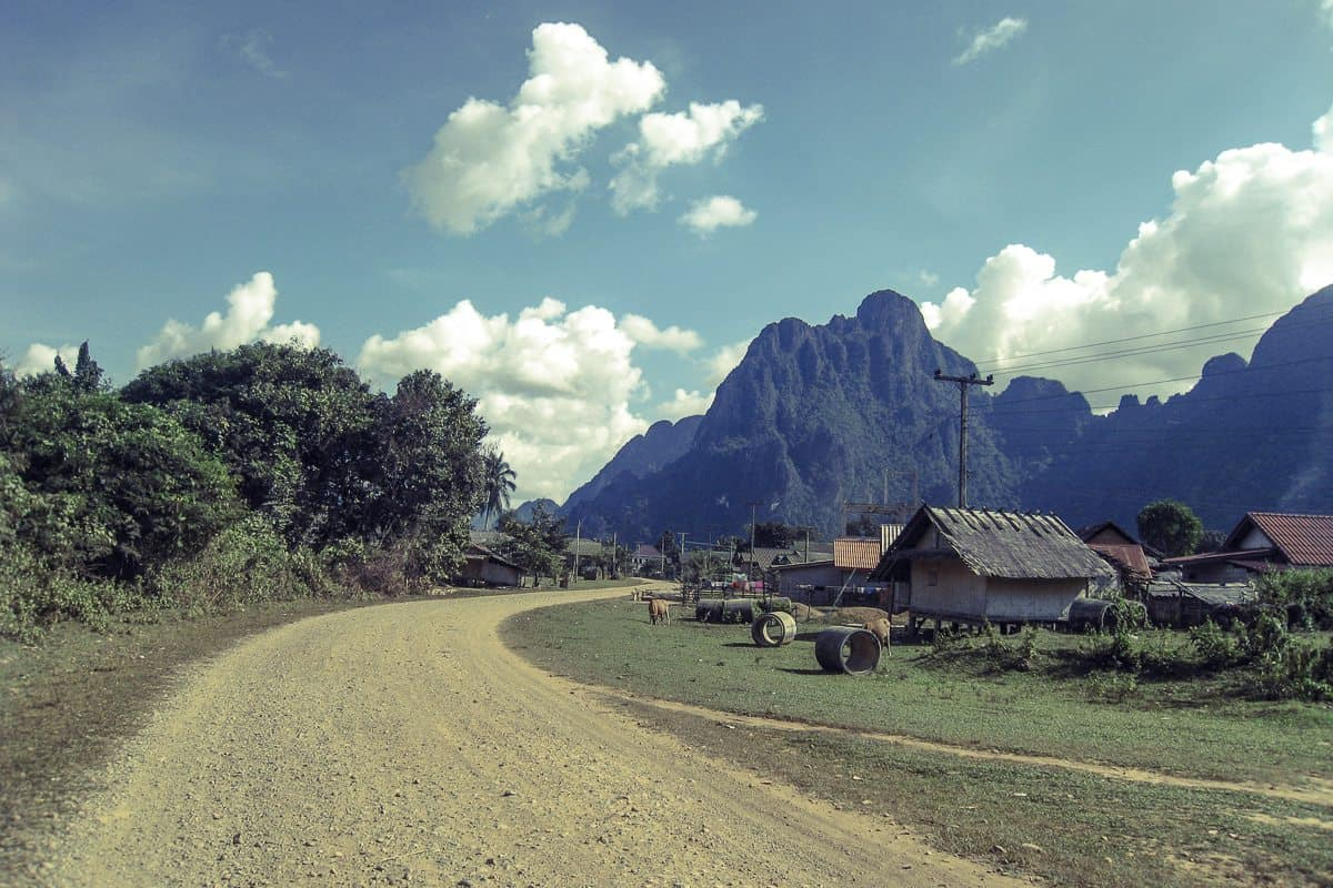 Small Laotian village