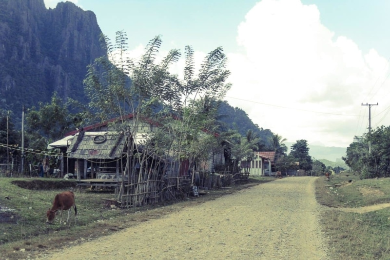 Villages outside Vang Vieng