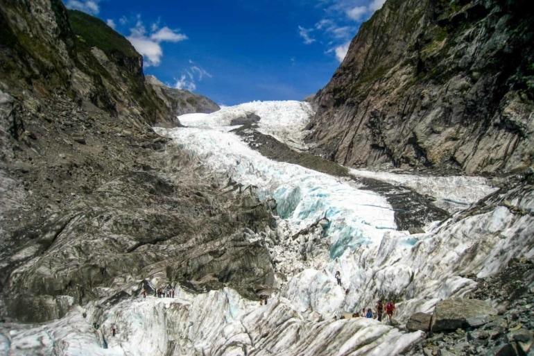 Hiking the Franz Josef Glacier in New Zealand