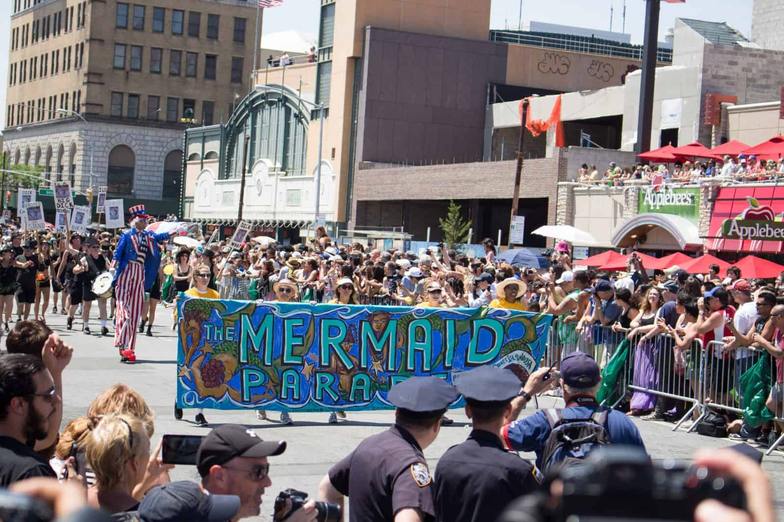 The 2014 Mermaid Parade on Coney Island in New York [NSFW]