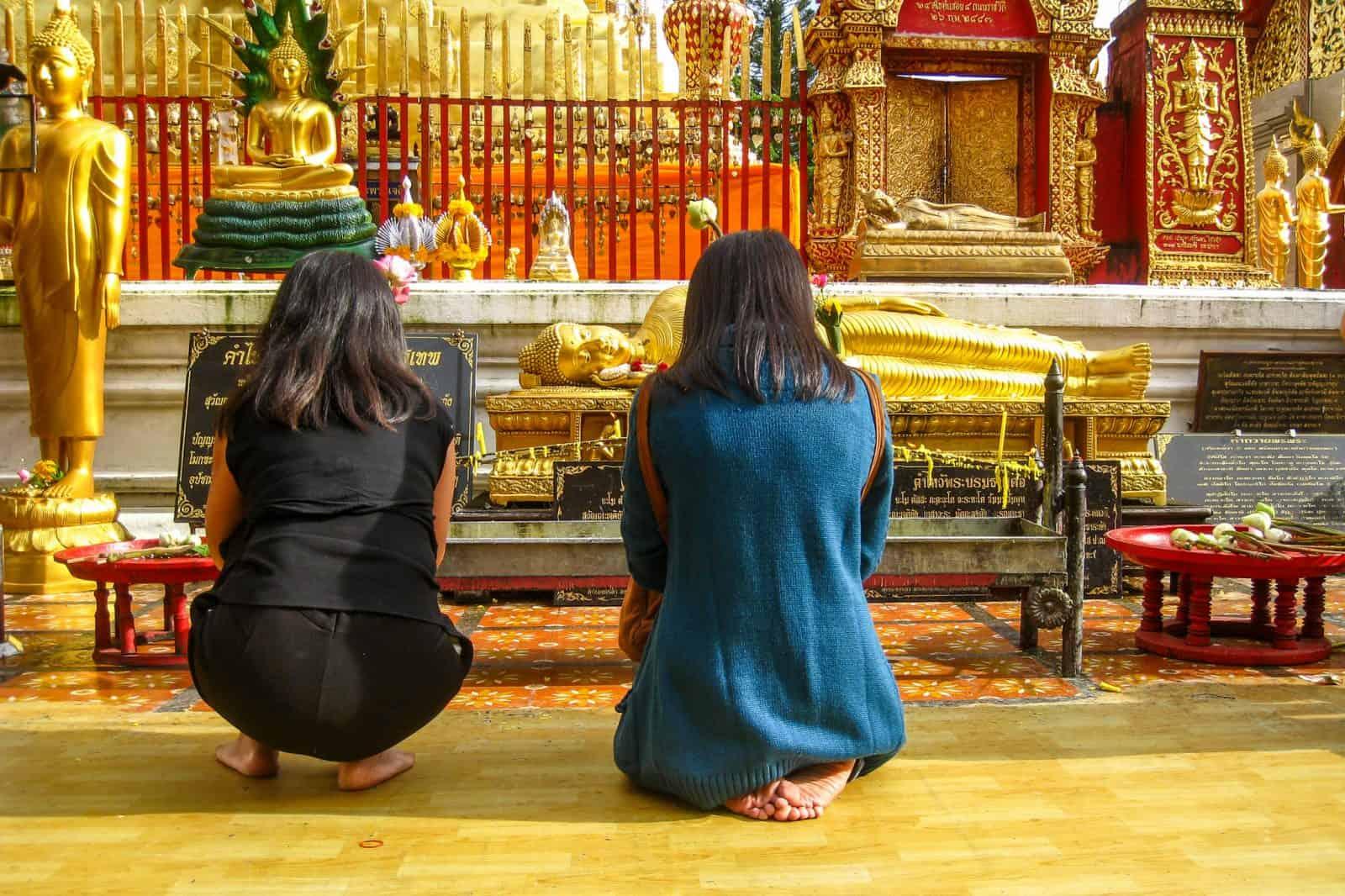 Buddhist Prayer, Chang Mai