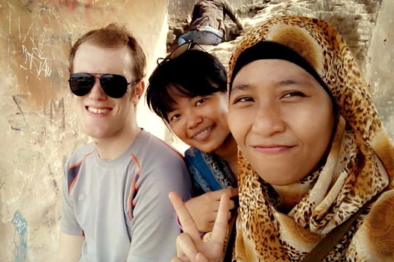 Being a White Boy in Indonesia