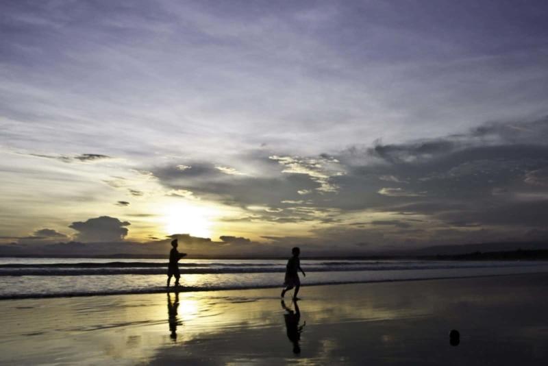 Sunset in Pangandaran