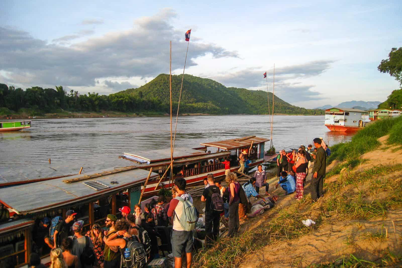 Arrival in Laos
