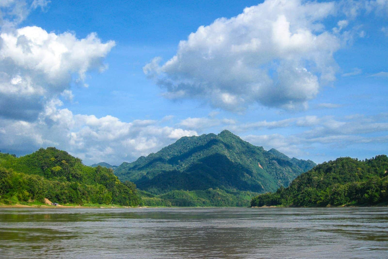 Scenic on the Mekong River