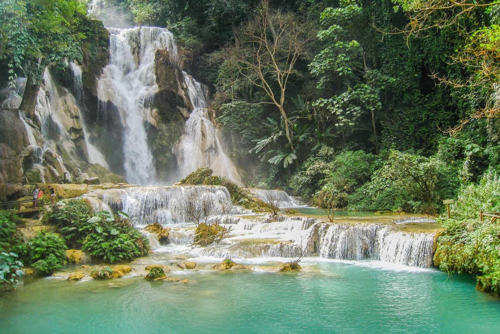 Kuang Si Falls, Luang Prabang: The Most Beautiful Waterfall