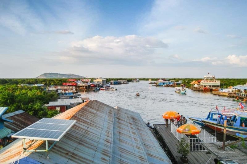 The Chongknease Floating Village