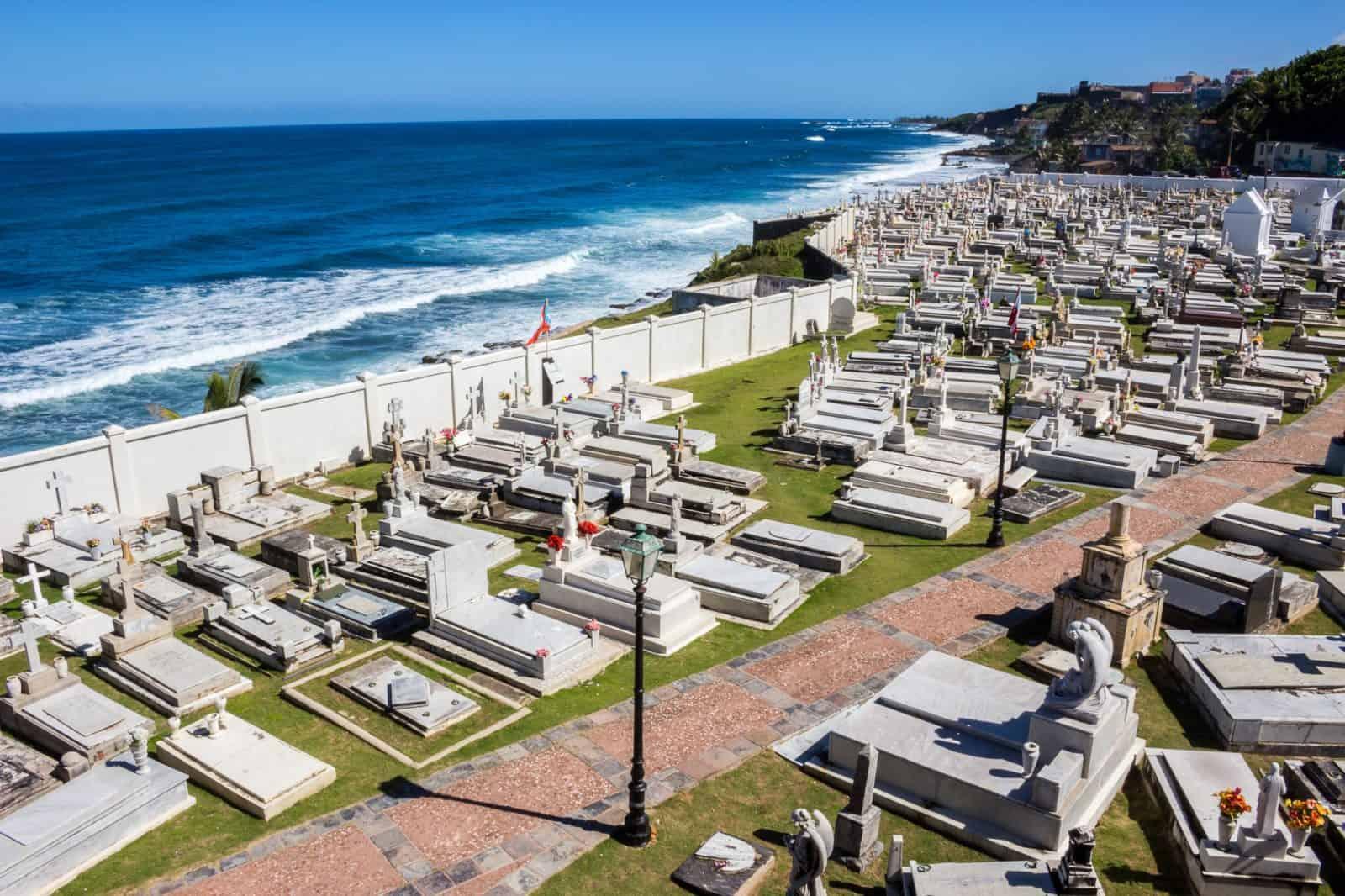 Santa María Magdalena de Pazzis Cemetery, Old San Juan
