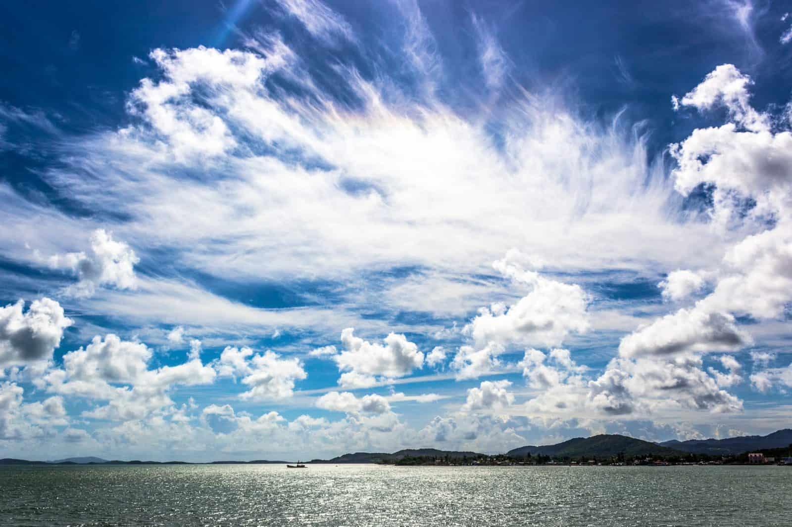 Clouds in Fajardo