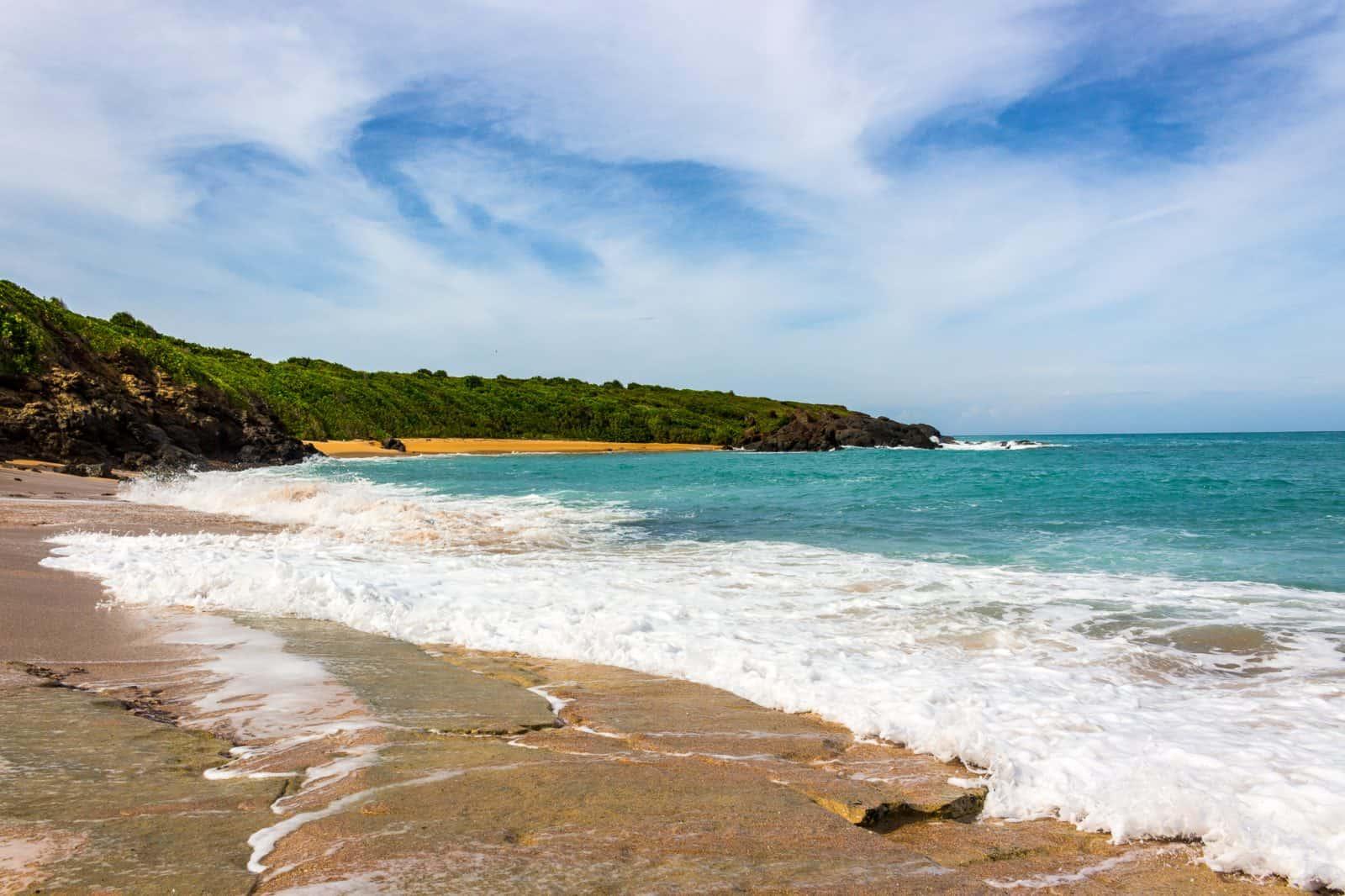 Secret Beach in Puerto Rico