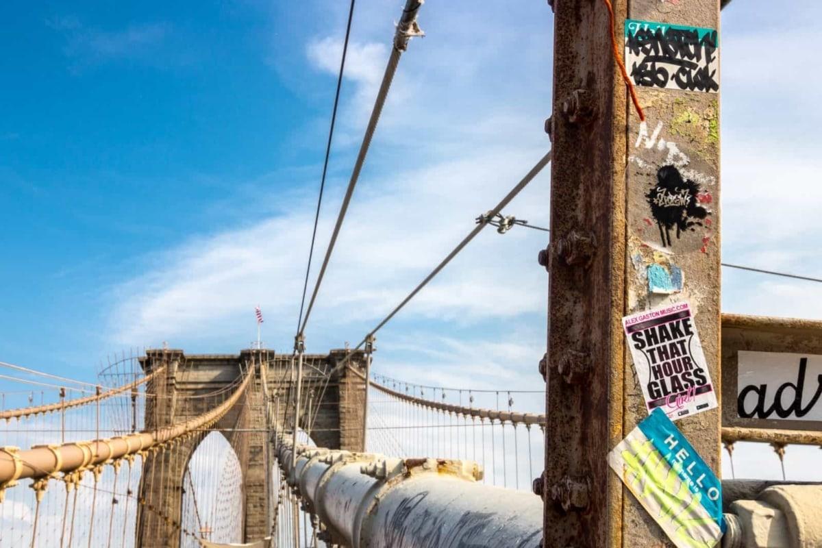 The Brooklyn Bridge, New York City