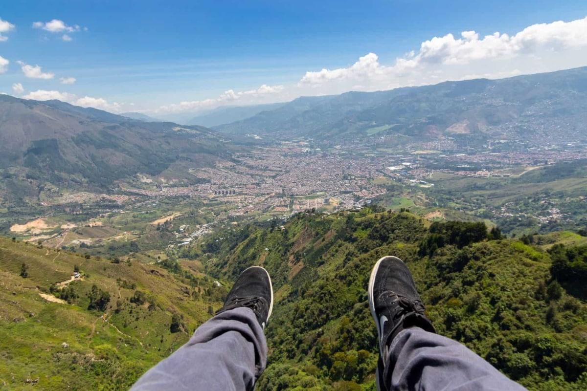 POV Over Medellin, Colombia