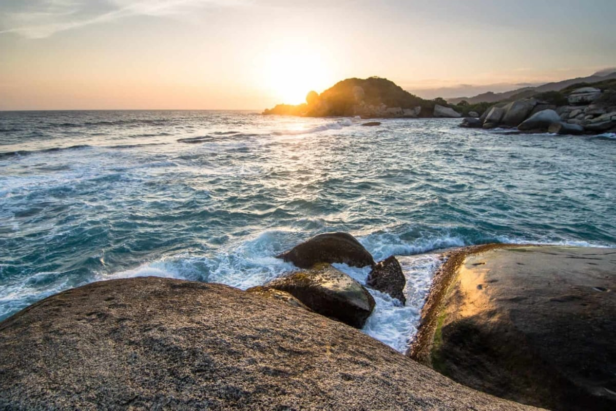 Sunrise in Tayrona National Park