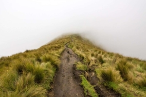 Hiking 15,407ft in a Hailstorm to the Top of the Pichincha Volcano in Ecuador