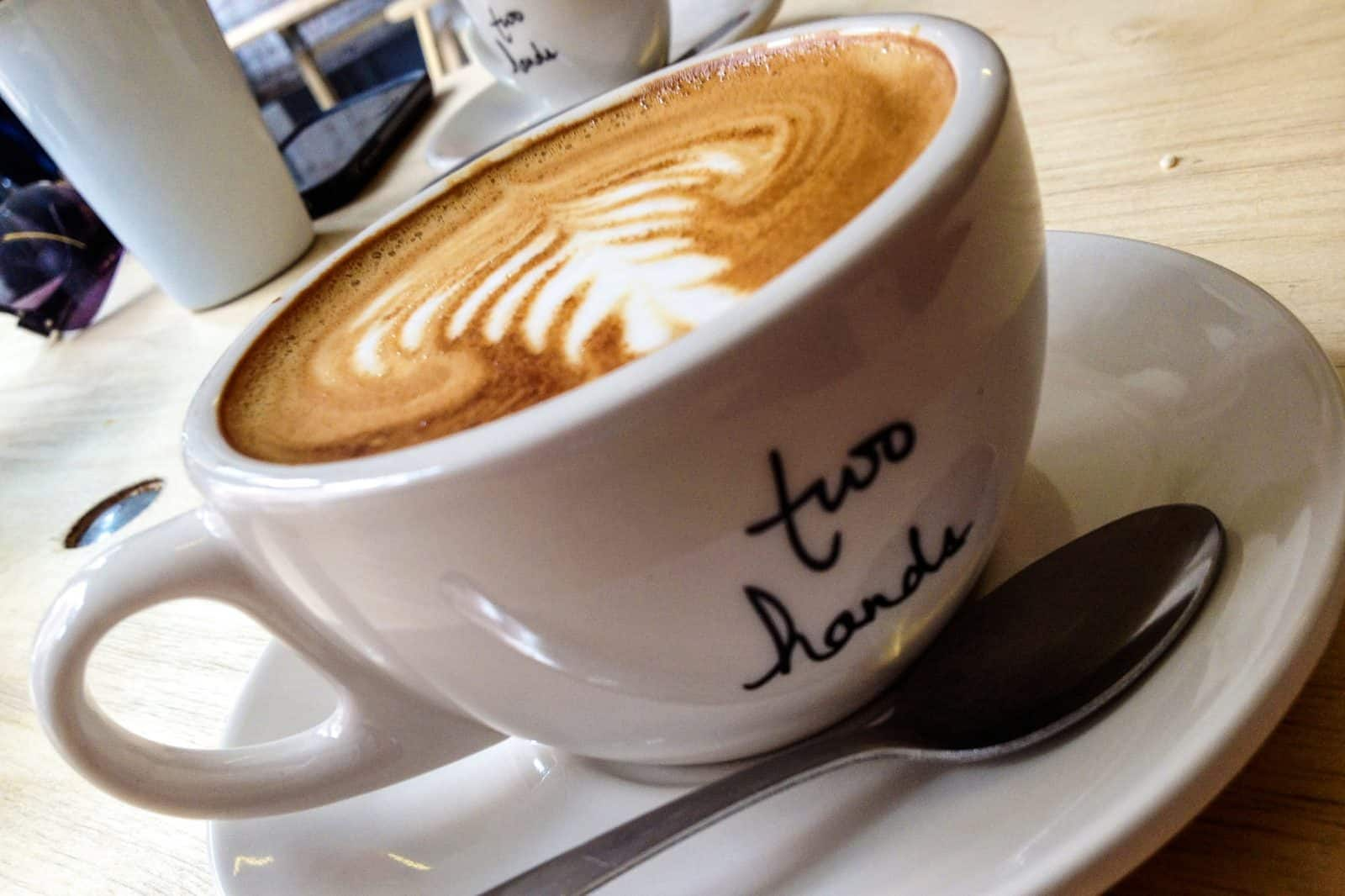 Flat White at Two Hands