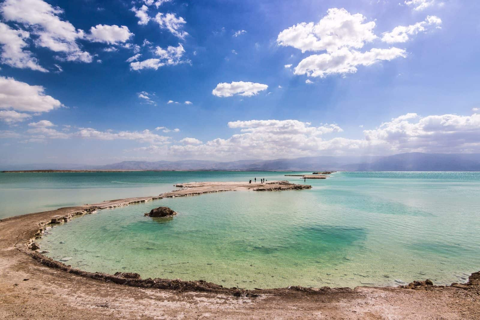 Salt formations at the southern Dead Sea