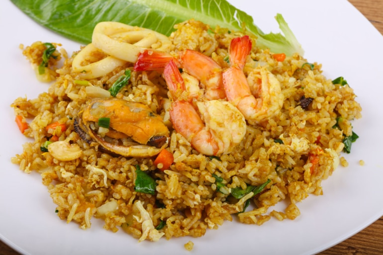 Fried Rice, traditional chinese food