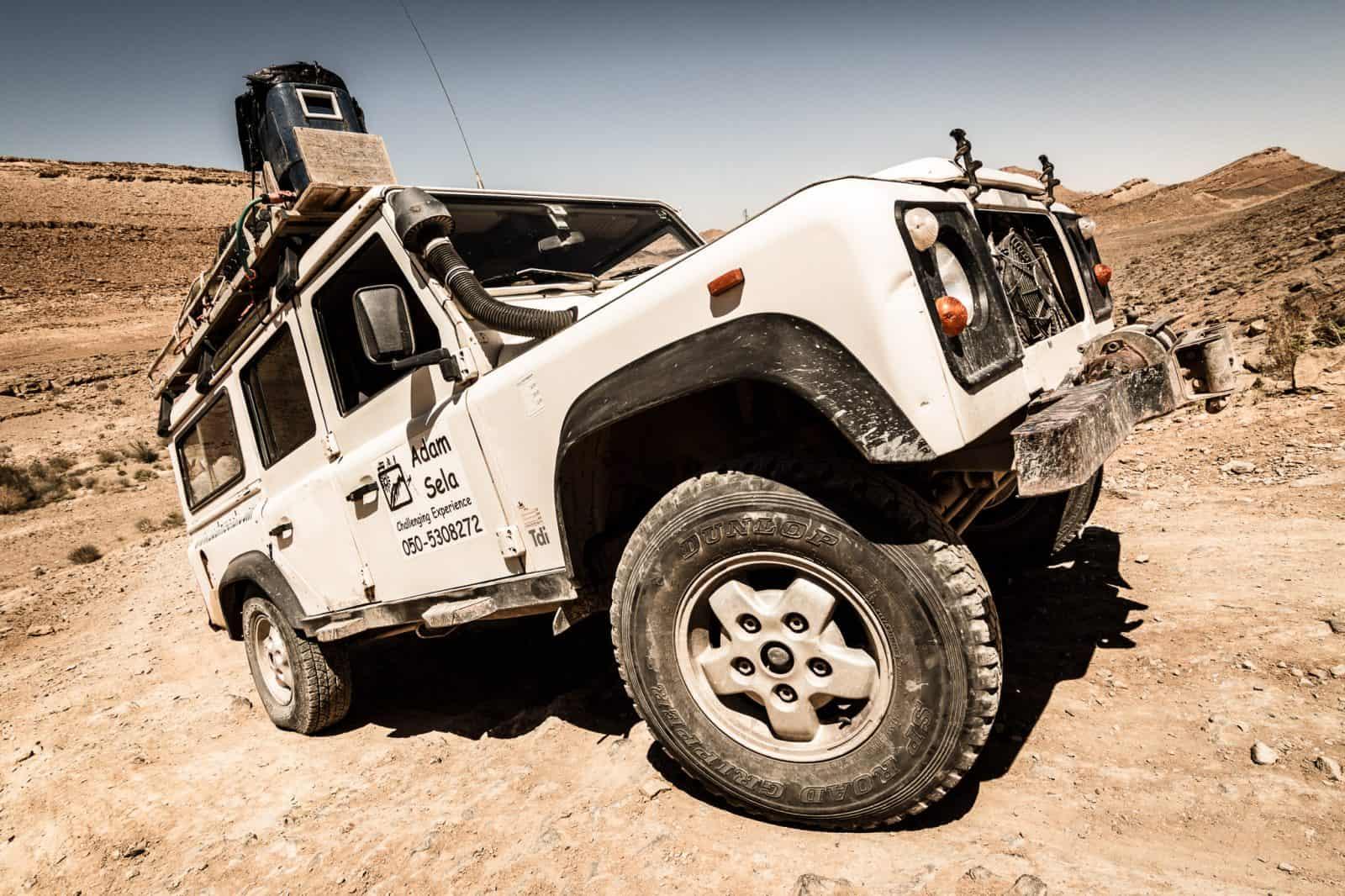 Exploring the Negev Desert with Adam Sela