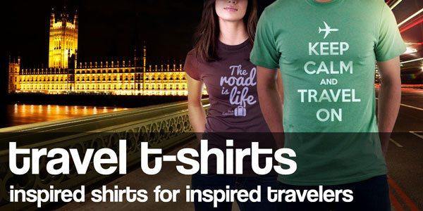 Custom Travel T-Shirts