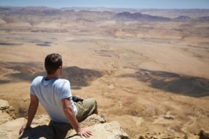 In the Negev with my BugsAway Pants