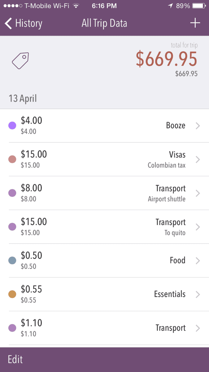 Trail Wallet, Best Travel Apps