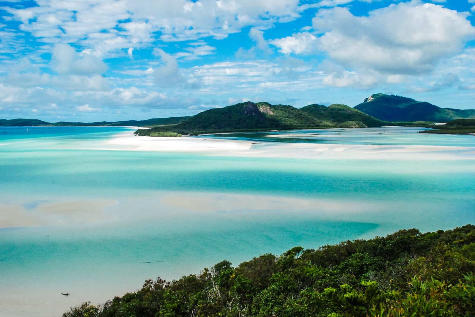 Whitehaven Beach, Whitsunday Islands.