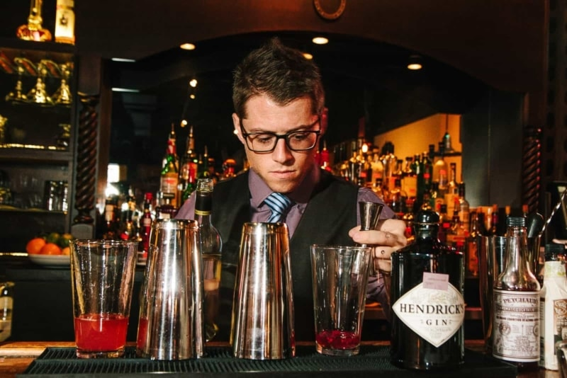 Bartending is a great way to fund your travels abroad.