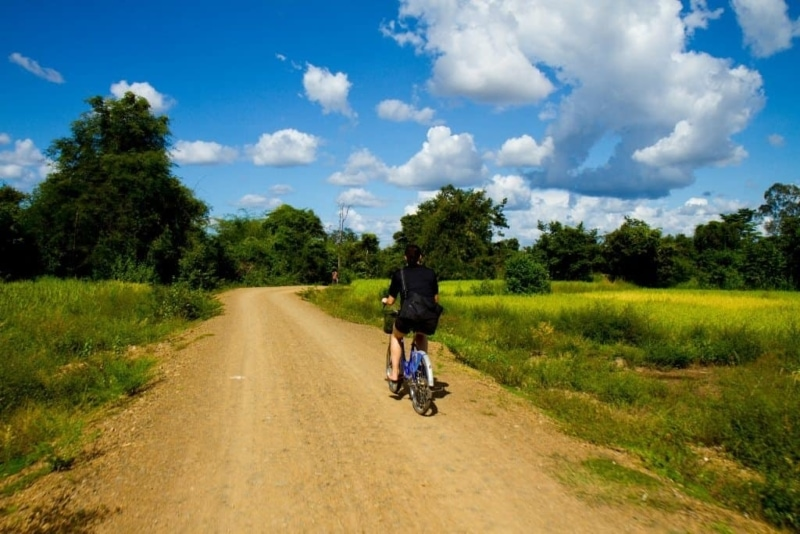 Mountain Biking in Laos