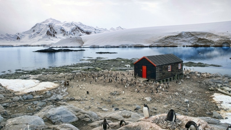 Port Lockroy in Antarctica