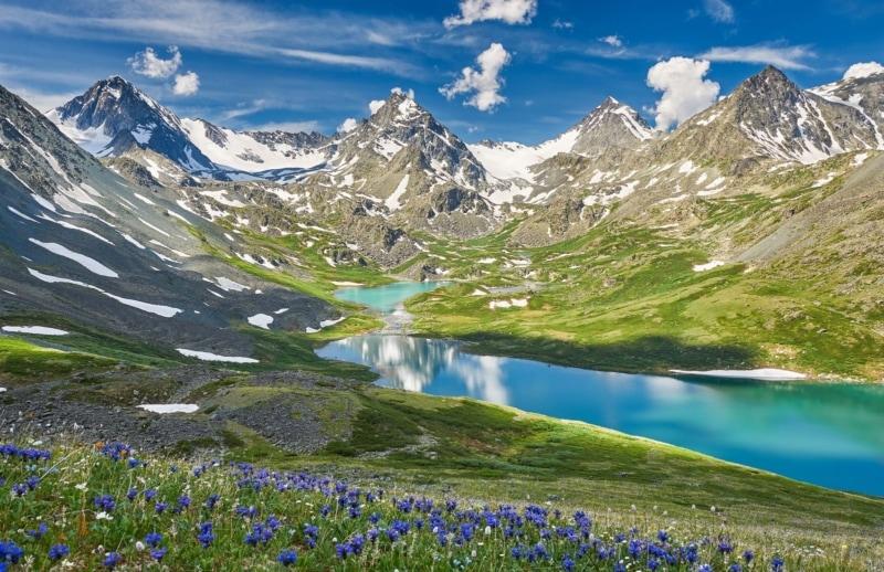 Katun Ridge of the Altai Mountains in Siberia, Russia