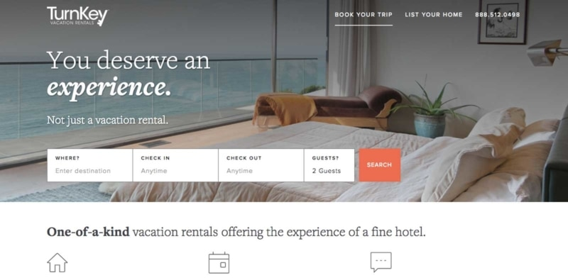 TurnKey is a great alternative to Airbnb