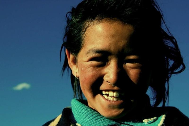 New friends in Tibet