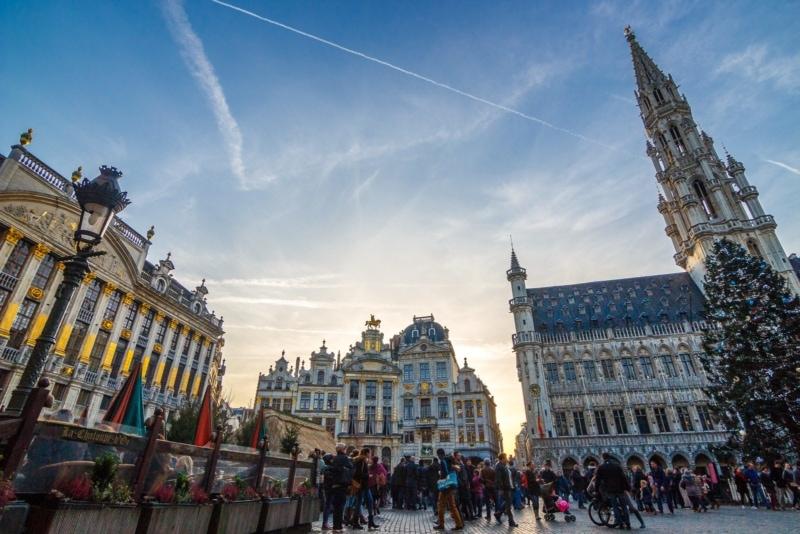 Christmas in Brussels, Belgium