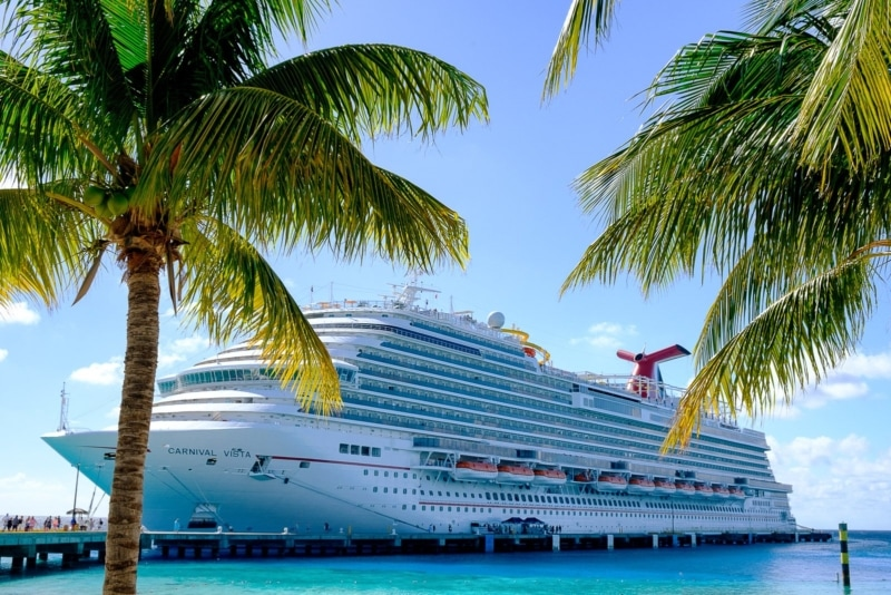 The Carnival Vista on Grand Turk