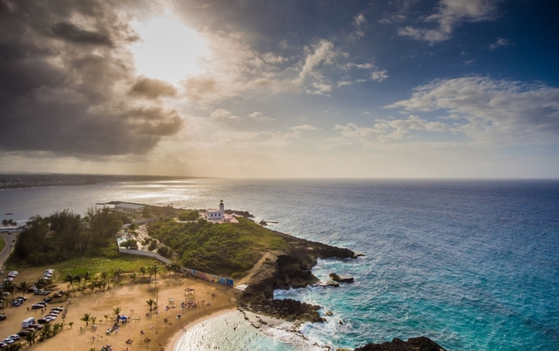 Scenic Puerto Rico is part of the Unites States