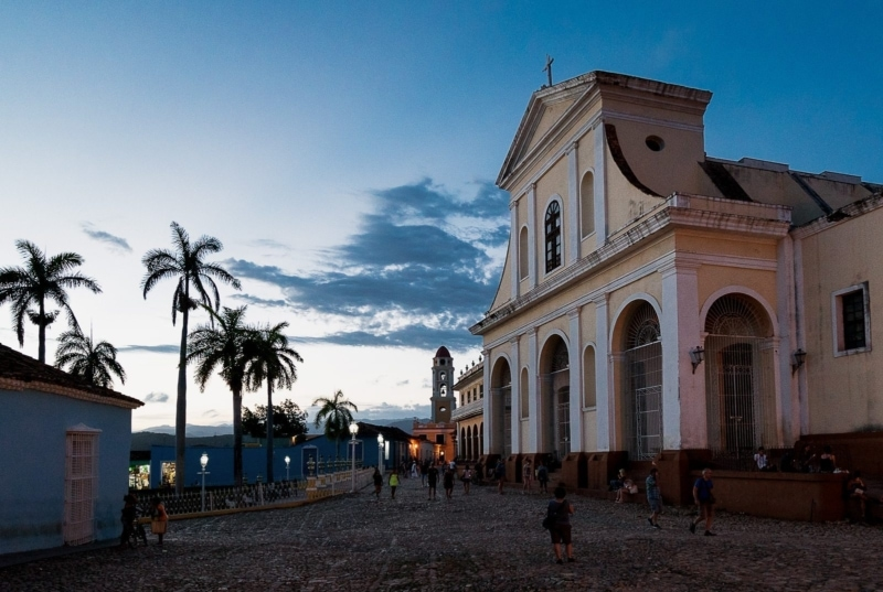 Plaza Mayor in Trinidad, Cuba