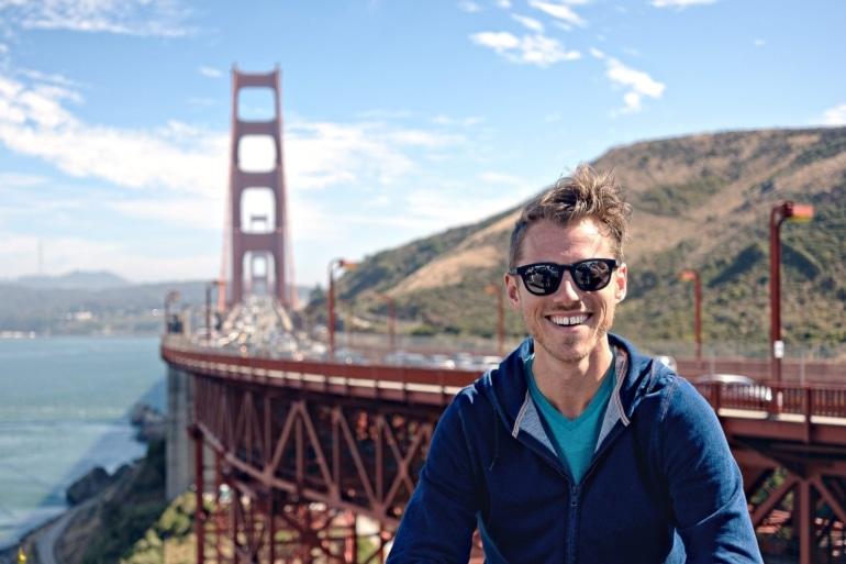 Rocking Maui Jim Koko Head's at the Golden Gate Bridge
